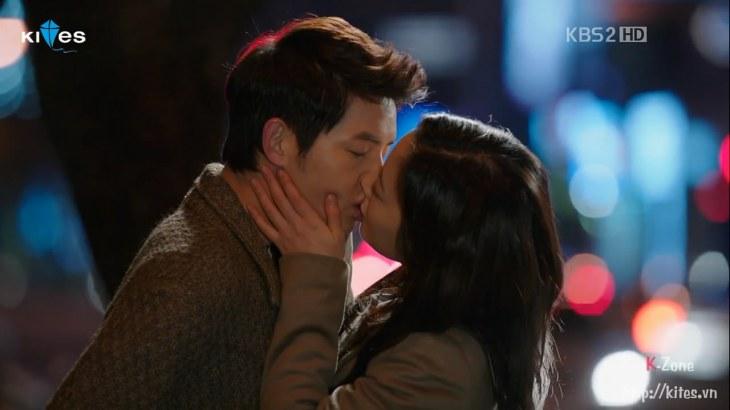 The last kiss.