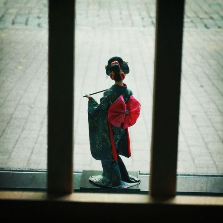 Kimono girl.